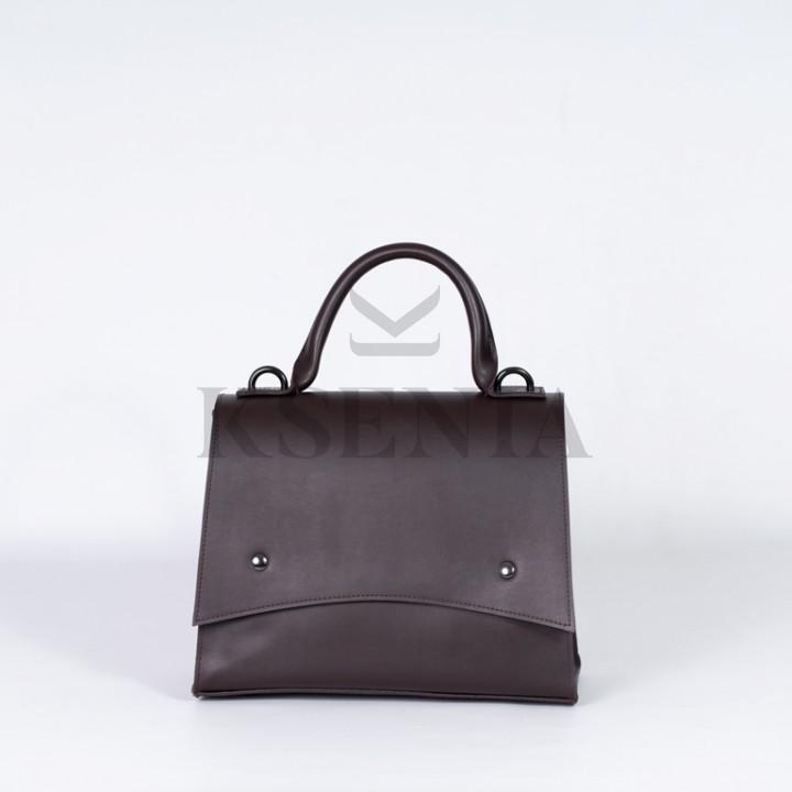 Женская сумка-портфель КСЕНИЯ №87-20/3 28х24х11 Коричневый